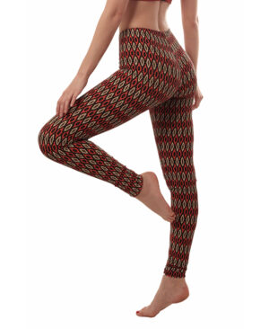 YOGA LEGGINGS African Shield