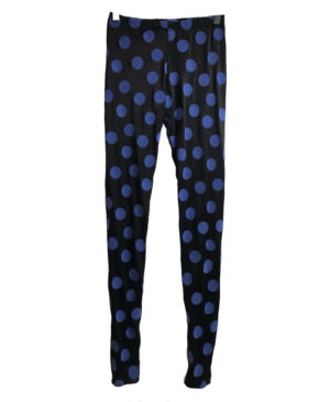 yoga set TOP MALIBU CON LEGGINGS VELVET POIS