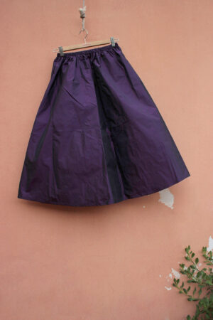 gonna WEST seta TAFFETA VIOLA
