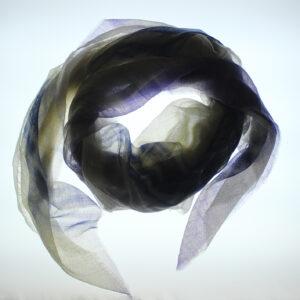foulard PASHMINA CACHEMIRE tinto a mano
