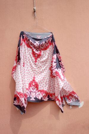blusa foulard 2MQ Foulard des Indes