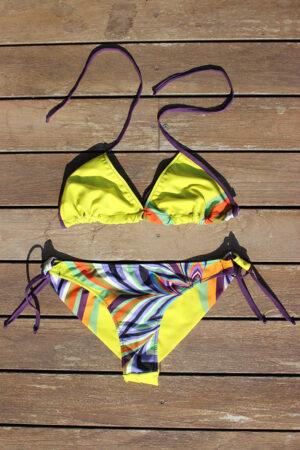 bikini CARNIVAL Yellow Flower